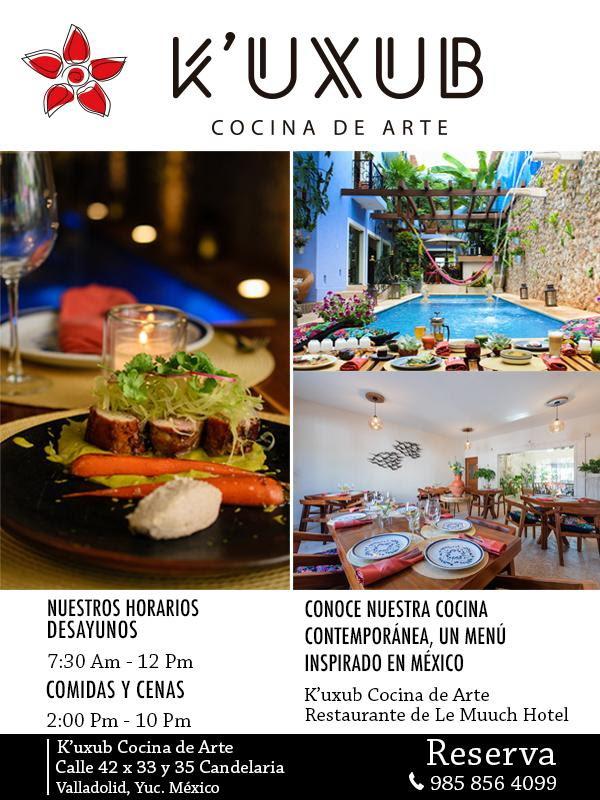K´UXUB traditional restaurant